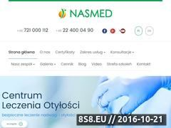 Miniaturka domeny www.nasmed.com.pl