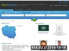 Miniaturka domeny nasz-prawnik.pl