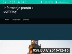 Miniaturka domeny nasza-lomnica.pl