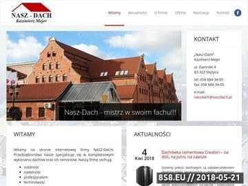 Zrzut strony Nasz-Dach Kazimierz Mejer - dachy budynków zabytkowych