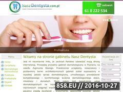 Miniaturka domeny www.naszdentysta.com.pl