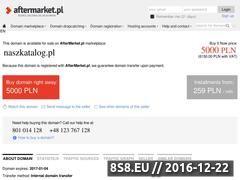 Miniaturka domeny naszkatalog.pl