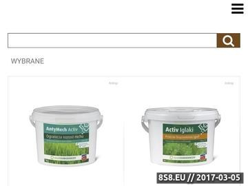 Zrzut strony Ogrodniczy sklep internetowy online