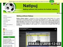 Thumbnail of Betting software Natipuj Website