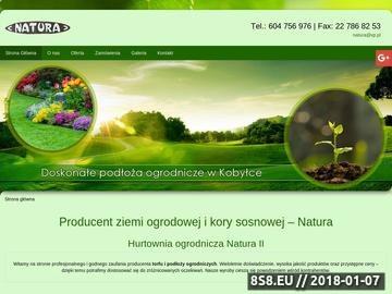 Zrzut strony Sprzedaż podłoży organicznych - Natura II