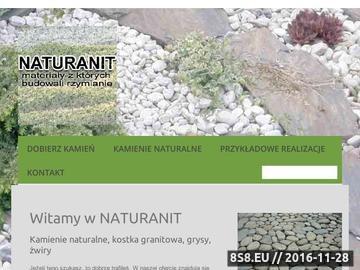 Zrzut strony Naturanit - kamienie naturalne