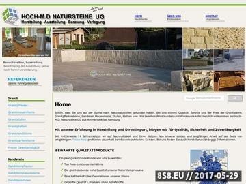 Zrzut strony Natursteine
