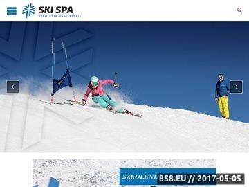 Zrzut strony Szkolenia na tyczkach, treningi narciarskie
