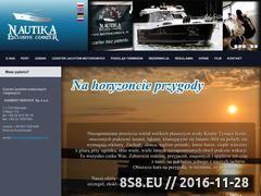 Miniaturka domeny www.nautikaczarter.pl