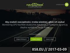Miniaturka domeny www.navifleet.pl