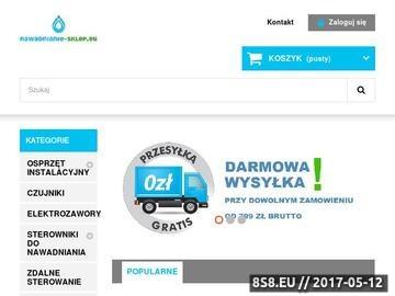 Zrzut strony Automatyczne systemy nawadniania, zraszacze - nawadnianie-sklep.eu