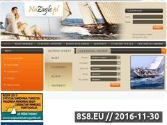 Miniaturka domeny www.nazagle.pl