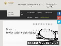 Miniaturka domeny www.nemezis.net.pl