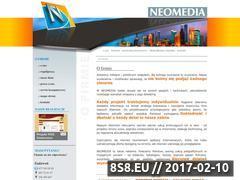 Miniaturka domeny www.neomedia.pl