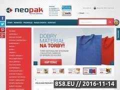 Miniaturka domeny www.neopak.pl