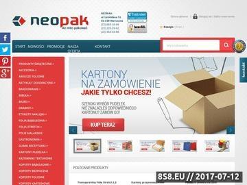 Zrzut strony Koperty ochronne neopak.pl