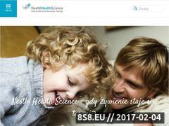 Miniaturka domeny nestlehealthscience.pl