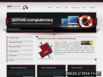 Zrzut strony Net-Comp - Kompleksowa Obsługa Informatyczna
