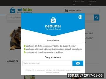 Zrzut strony NetFutter - przysmaki dla psa