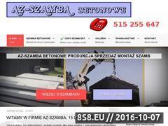 Miniaturka Szamba betonowe i spawalnictwo (www.netszamba.pl)