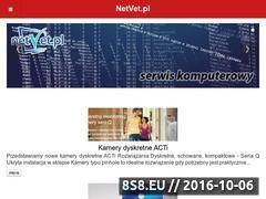 Miniaturka domeny netvet.pl
