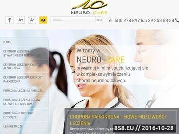 Zrzut strony Neurolog z Katowic