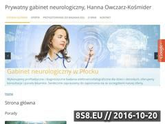 Miniaturka domeny neurologiaplock.pl