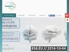 Miniaturka domeny www.neurologprzygodzice.pl