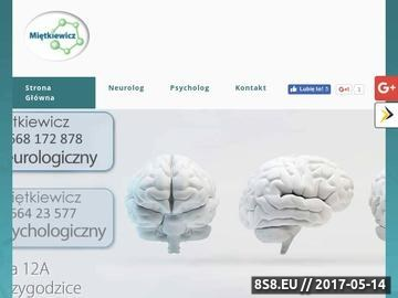 Zrzut strony Janusz Miętkiewicz - neurolog