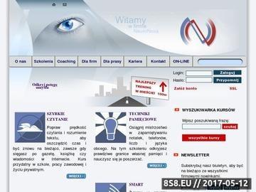 Zrzut strony NeuroNova - Kursy i Szkolenia