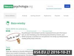 Miniaturka domeny www.neuropsychologia.org