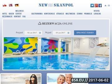Zrzut strony Hotele Kołobrzeg