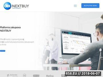 Zrzut strony Platforma zakupowa
