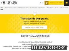 Miniaturka domeny nexus-translations.pl