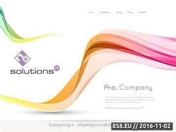 Zrzut strony Profesjonalna obsługa informatyczna - NGsolutions.pl