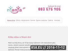Miniaturka domeny nianiaania.pl