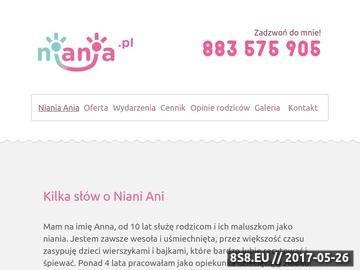 Zrzut strony Niania Wrocław