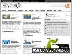 Miniaturka domeny www.nibyblog.pl