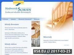 Miniaturka domeny www.niedworok-schody.pl