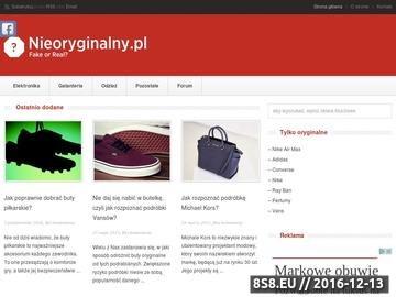 Zrzut strony Nieoryginalny.pl