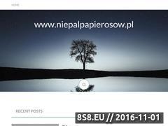 Miniaturka domeny niepalpapierosow.pl
