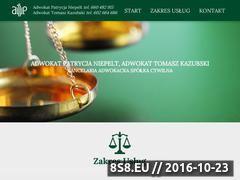 Miniaturka domeny niepelt-kazubski.pl