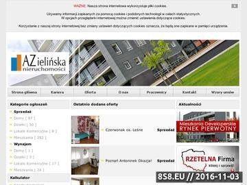 Zrzut strony Nieruchomości Poznań