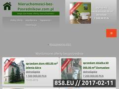 Miniaturka domeny nieruchomosci-bez-posrednikow.com.pl