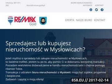 Zrzut strony Biura nieruchomości Mysłowice