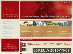 Miniaturka domeny www.nieruchomosci-pulawski.pl