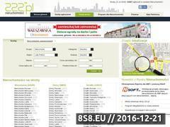 Miniaturka domeny www.nieruchomosci.222.pl