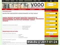 Miniaturka domeny www.nieruchomosci.yooo.pl