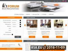Miniaturka domeny www.nieruchomosciforum.com