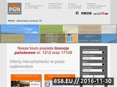 Miniaturka domeny www.nieruchomoscipgn.pl